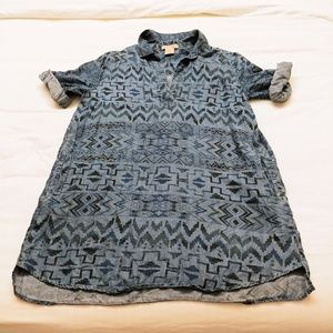 Philosophy Aztec Tunic Dress